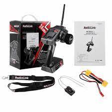 Radiolink RC6GS V2 2.4Ghz 6CH Phát + R7FG Con Quay Hồi Chuyển Bên Trong Đầu  Thu Cho RC Xe RC Xe Tàu RC các Bộ Phận|Phụ Tùng & Phụ Kiện