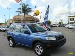2003 Monte Carlo Blue Metallic Land Rover Freelander S #19367616 ...