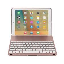 Ipad Lighted Keyboard Case Niceeshop Tm Ipad Pro 9 7 Air 2 Backlit Keyboard Case Abs