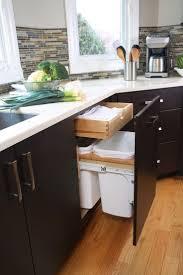 Kitchen Cabinet Garbage Drawer 17 Best Ideas About Contemporary Kitchen Trash Cans On Pinterest