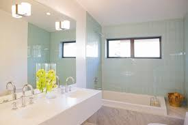 gorgeous bathtub caddy in bathroom modern with men s bathroom next to integrated sink alongside freestanding shower and tub shower tile