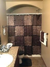 zebra print bathroom set leopard bath rug brown for animal remodel 1
