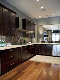 Fine Kitchen Wall Colors With Dark Cabinets Best 25 Ideas Only On Pinterest Impressive Design