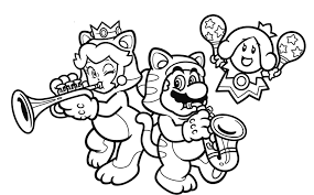 Small Picture Nintendo releases another set of coloring book pages online