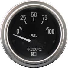 search gauges stewart warner deluxe fuel pressure gauge p n 82436 type electrical