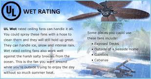 ul wet rated information delmar fans delmarfans com
