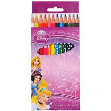 Les 12 Crayons De Couleurs Bois Princesse Achat Vente Crayon Crayon De Couleur Set De Crayons De Couleur Princesse L