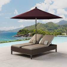 agio mckenzy double chaise lounge with