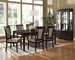 Living Room China Cabinet Steve Silver Wilson Contemporary Dark Brown China Cabinet With