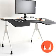 herman miller office desk. Herman Miller Desk Envelope Laminate Top / White X Base (grid) Envelop Computer Desks Office