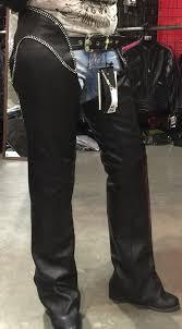 12751 bling hip hugger women leather chap