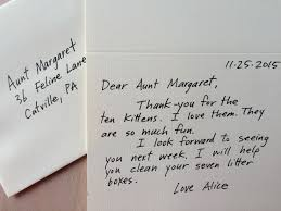 Brilliant Ideas Of How To Write A Thank You Note A Real One In