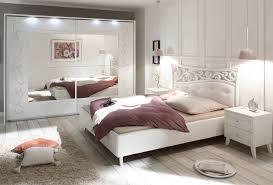 Schlafzimmer Komplettset Weiss Siebdruck Selvio2 Designermöbel
