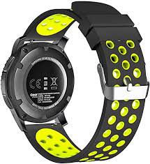 22mm Smart Watch Bands, FanTEK Silicone Sport ... - Amazon.com
