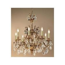 majestic imperial 8 light crystal chandelier aged pewter strass golden teak in on alibaba com