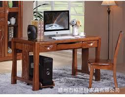 chinese solid wood computer desk study desk writing desk office desktop oak computer desk