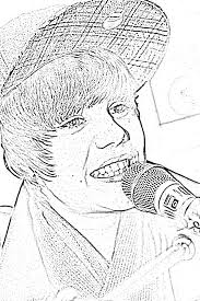Small Picture Justin Bieber Coloring Pages kids world