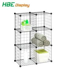 china grid wire modular shelving and storage cubes stacking cube panel grid storage cubes wire