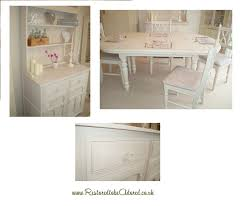 white dining table shabby chic country. Oak Dresser, Kitchen Table, Dining Shabby Chic, Hand Painted, Country White Table Chic O