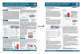 Science Research Posters Design Science Research Poster Template Redesign For London School