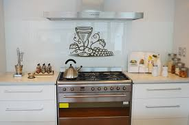 Stunning Design Of The Kitchen Wall Decor Ideas With White Wooden Cabinets  And White Wall Ideas