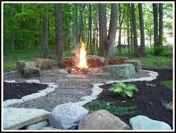 diy build your own summer fire pit