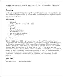 Professional Life Insurance Agent Templates To Showcase Your