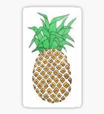 pineapple drawing tumblr. pineapple sticker drawing tumblr