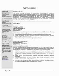 Resume For A Business Analyst Resume Business Analyst Project Management New Information