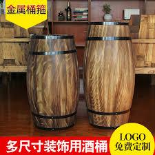 Oak barrels decorative props ornaments oak wine barrels wooden wine