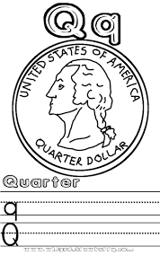 Small Picture Quarter coloring pages