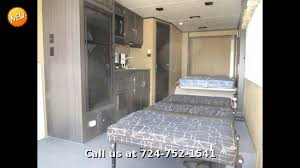 2016 forest river work and play 18ec travel trailer toy hauler in ellwood city pa