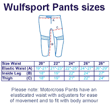 Wulfsport Aztec Cub Race Motocross Pants Latest 2019 Design Fantastic Value