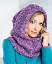 Hooded Cowl Knitting Pattern Free
