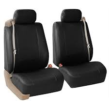 all purpose built in seat belt pu leather seat covers