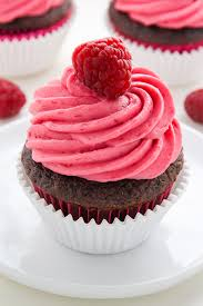chocolate cupcakes with pink icing recipe. Simple Recipe Nutella Stuffed Chocolate Cupcakes With Raspberry Frosting On With Pink Icing Recipe