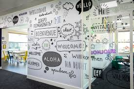 Small Picture vinylimpressionc Custom wall graphics for office fit out