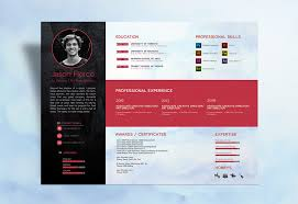 Modern Resume Design Best Modern Resume CV Design Template In PSD Ai EPS INDD CDR DOC