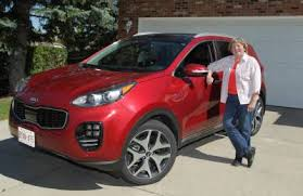 2018 peugeot suv. Beautiful Suv Reader Carol Van Besouw Stands Next To The 2017 Kia Sportage She Test Drove  For A And 2018 Peugeot Suv L