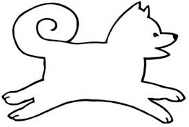 Easy Animal Coloring Pages Simple Dog Sled Coloring Pages Easy