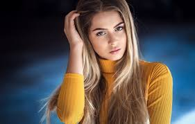 Wallpaper pose, hair, Girl, blonde, Alisa Tarasenko, Ivan Sharp images for  desktop, section девушки - download