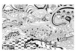 Small Picture Psychedelic Coloring Pages 50 Trippy Coloring Pages Free Printable