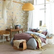 japanese inspired furniture. Japanese Inspired Furniture. Furniture Feminine Bedroom Design With Flower Wallpaper Also Unique Orange