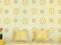 asian paints wall stencils design