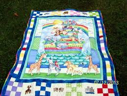 Noahs Ark quilt made on request &  Adamdwight.com