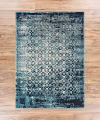 cheshire blue contemporary moroccan lattice distressed modern