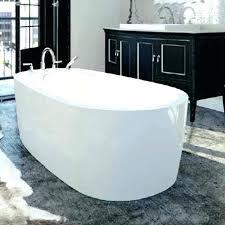 freestanding bathtub reviews cast jacuzzi primo white acrylic oval freestanding bathtub reviews
