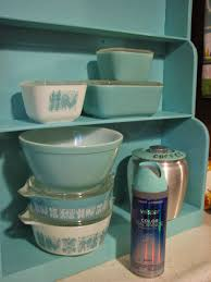 Valspar Turquoise Spray Paint They Call This America Turquoise Pyrex Paint Match