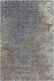 blue and gray area rug light
