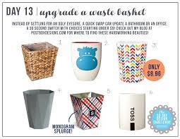 Design Challenge Ideas 30 Day Design Challenge Day 13 Pretty Up Your Wastebasket